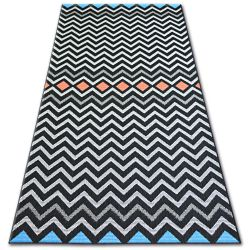 Carpet COLOR 19309/839 Zigzag Black