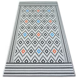 Carpet COLOR 19315/836 Diamonds White