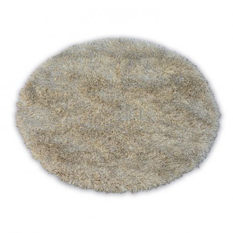 Carpet LOVE SHAGGY circle design 93600 beige