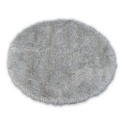 Carpet LOVE SHAGGY circle design 93600 silver