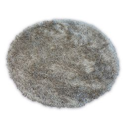 Carpet LOVE SHAGGY circle design 93600 light brown