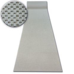 Runner SISAL FLOORLUX design 20433 cream PLAIN