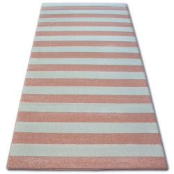 Carpet SKETCH - F758 pink/cream - Strips