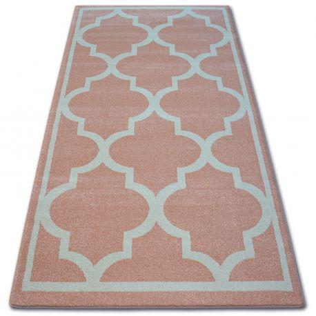 Carpet SKETCH - F730 pink/cream trellis