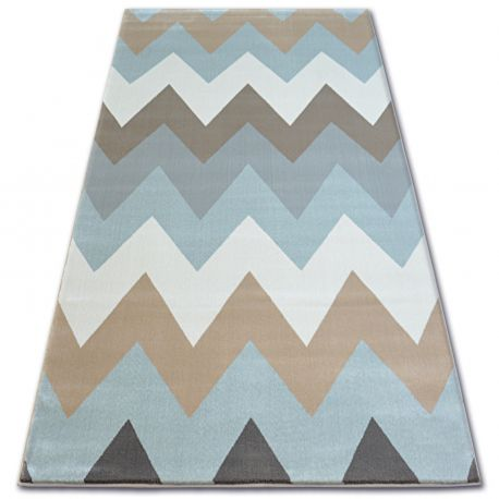 Carpet ARGENT - W4936 Zigzag Blue