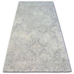 Carpet Wool NATURAL MILET light grey
