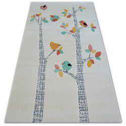 Carpet PASTEL 18405/063 - BIRDS cream