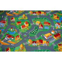 Children carpet LITTLE GOLIATH - velvet