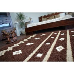 Carpet TRIPLEX MARCELLO dark brown