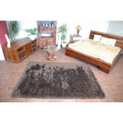 Carpet LOVE SHAGGY design 93600 black/brown