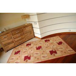 Carpet POLKA maroon