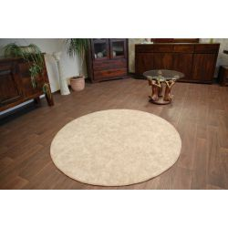Wall-to-wall round SERENADE beige