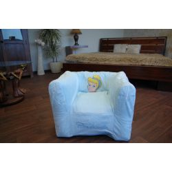 inflatable chair DISNEY CINDRELLA blue