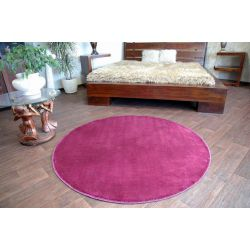 Carpet round ULTRA purple