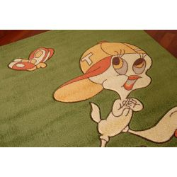 Carpet TWEETY green