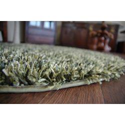 Carpet circle SHAGGY BRILLIANT 040 green