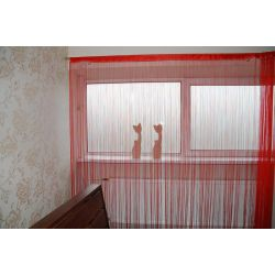 Curtain 250x300 cm DECO PASKI 01 red