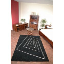 Carpet STRUCTURAL TEDDY black