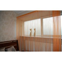 Curtain 250x300 cm DECO PASKI 09 orange