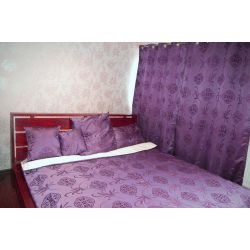 Curtain FLORYDA 140x250 cm purple