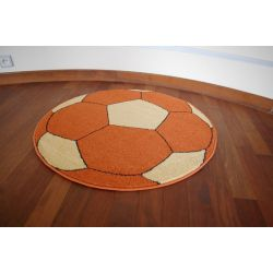 Carpet WELIRO circle BALL terracotta