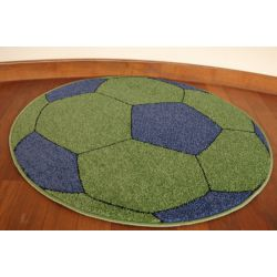 Carpet WELIRO circle BALL green