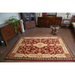 Carpet AGNUS NADAR burgundy