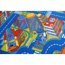 Carpet ULICZKI BIG CITY blue