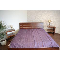Coverlet PIKOWANA purple - grey