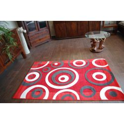 Carpet LILIUM 4717 red cream