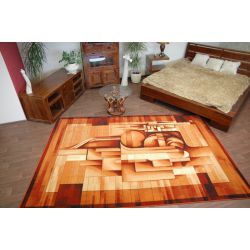 Carpet STANDARD GREG cognac