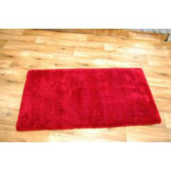 Carpet MICROFIBRA SHAGGY red