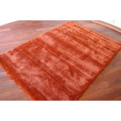 Carpet MICROFIBRA SHAGGY terracotta