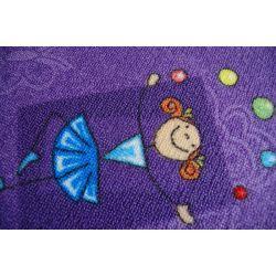Carpet HAPPY purple