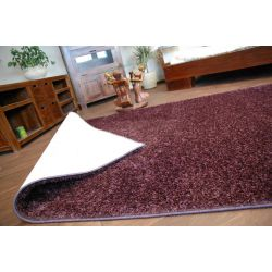 Fitted carpet SHAGGY CARNIVAL 19 plum