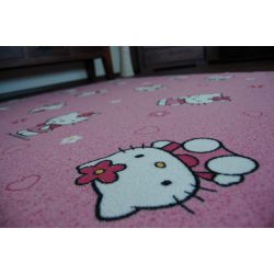 Carpet - Wall-to-wall HELLO KITTY pink