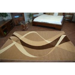 Carpet caramel BROWN walnut