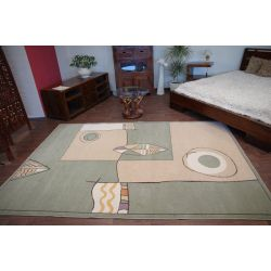 Carpet MODERN BUK green