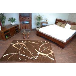 Carpet caramel CHOCO brown