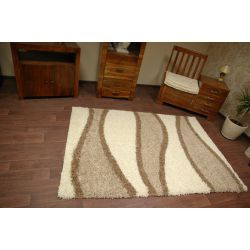 Carpet SHAGGY design S272 bone