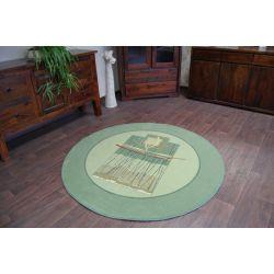 Carpet CLASSIC CIRCLE MUSTELA pistachio