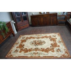 Carpet HEAT-SET HEAVEN 2954 terra / cream