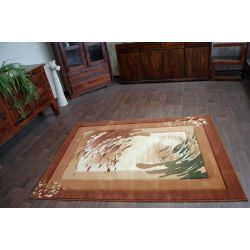 Carpet HEAT-SET HEAVEN 5613 cream / brown