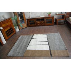 Carpet VERDI model 80039 silver