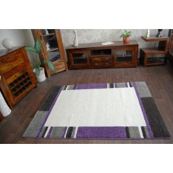 Carpet VERDI model 80053 ivory purple