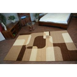 Carpet CARAMEL SEPIA brown