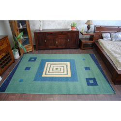 Carpet WEL-HIT SPIRALA green