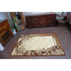 Carpet HEAT-SET DEKOR 007 brown