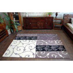 Carpet HAND TUFTED - SURAVI P06 aubergine