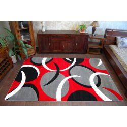 Carpet TIGA 0999A k.gri/kirmizi